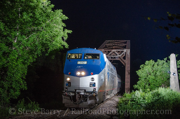 Photo 3429 Amtrak; Center Rutland, Vermont June 15, 2015