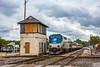 Photo 5240<br /> Amtrak<br /> BO Tower, Kalamazoo, Michigan<br /> September 28, 2018