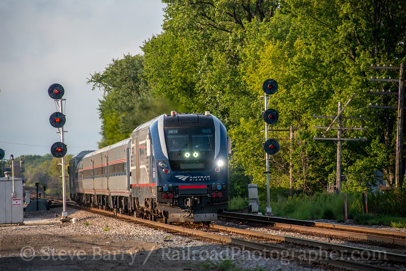 Amtrak; Sturtevant WI; 8/26/21