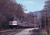Photo 2706<br /> Amtrak; Manitou, New York<br /> April 30, 1983