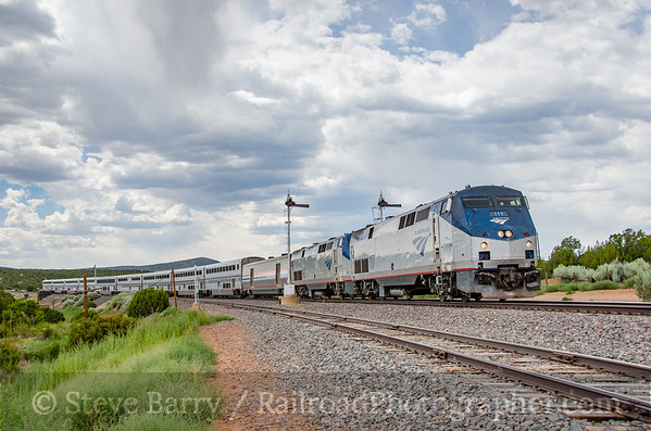 Photo 3886 Amtrak; Chapelle, New Mexico July 17, 2016