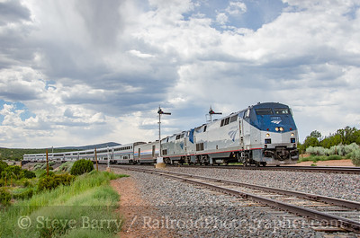 Photo 3886 Amtrak; Chapelle, New Mexico July 17, 2016