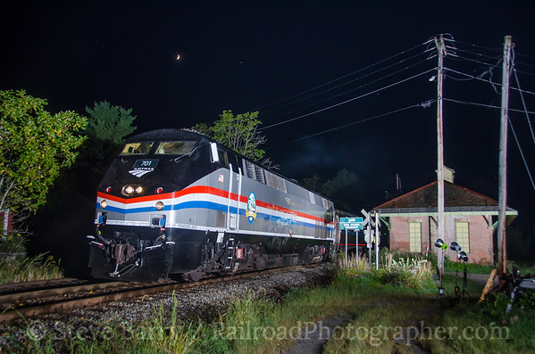 Photo 3924 Amtrak; Fair Haven, Vermont September 8, 2016