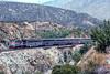 Photo 4888<br /> Amtrak<br /> Blue Cut, Devore, California<br /> July 1992