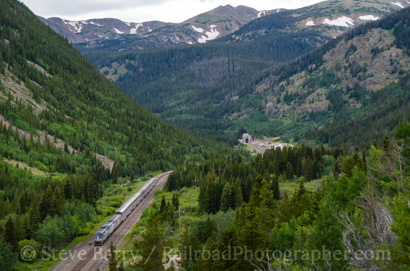 Photo 3894<br /> Amtrak; Tolland, Colorado<br /> July 19, 2016