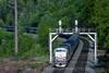 Photo 4557<br /> Amtrak<br /> Burke, Virginia<br /> April 1994