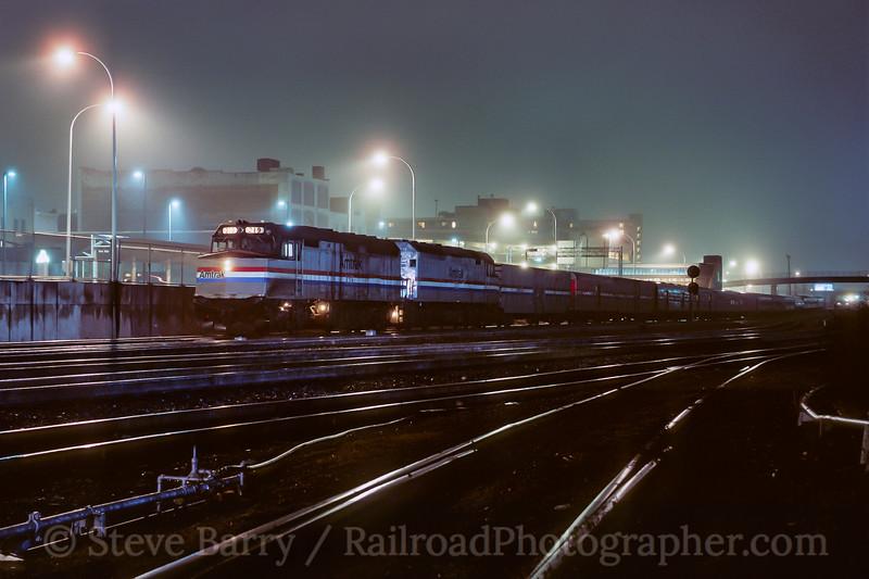Photo 3943<br /> Amtrak; Altoona, Pennsylvania<br /> April 1990