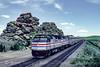 Photo 5101<br /> Amtrak<br /> Dale Junction, Wyoming<br /> July 1982