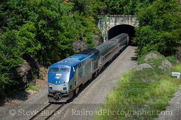 Photo 3922 Amtrak; Garrison, New York September 8, 2016