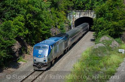 Photo 3922 Amtrak; Garrison, New York September 8, 2016