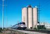 Photo 5376<br /> Amtrak<br /> Argo, Illinois<br /> May 1988
