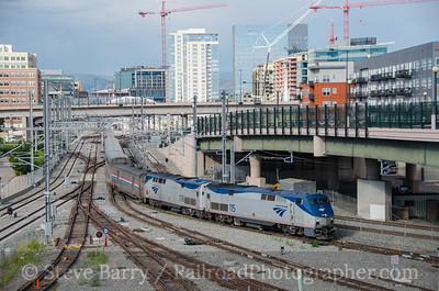 Photo 3905 Amtrak; Denver, Colorado July 24, 2016
