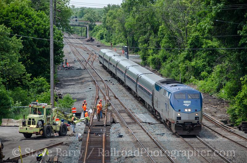Photo 3424<br /> Amtrak; Rensselaer, New York<br /> June 13, 2015
