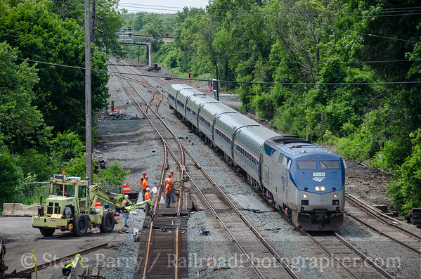 Photo 3424 Amtrak; Rensselaer, New York June 13, 2015