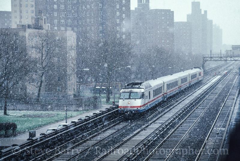 Photo 2518<br /> Amtrak; New York, New York