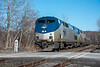 Photo 4651<br /> Amtrak<br /> West Stockbridge, Massachusetts<br /> April 22, 2018