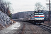 Photo 5013<br /> Amtrak<br /> Canaan, New York<br /> January 1990