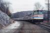 Photo 5013<br /> Amtrak<br /> Canaan, New York<br /> January 1990