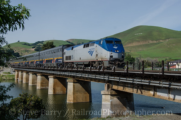 Photo 3327 Amtrak; Niles Junction, Fremont, California March 12, 2015