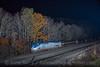 Photo 4388<br /> Amtrak<br /> Cassandra, Pennsylvania<br /> November 3, 2017