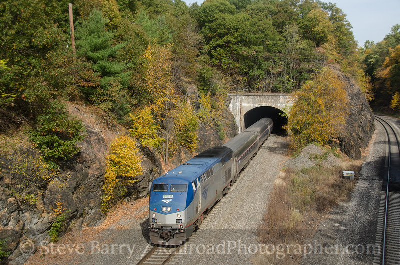 Photo 2816<br /> Amtrak; Garrison, New York<br /> October 19, 2013