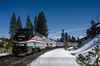 Photo 2629<br /> Amtrak; Yuba Pass, California<br /> March 11, 2013