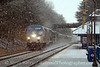 Photo 1803<br /> Amtrak; Leeland Road, Fredericksburg, Virginia<br /> January 8, 2010