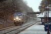 Photo 1803<br /> Amtrak; Leeland Road, Fredericksburg, Virginia<br /> January 8, 2010
