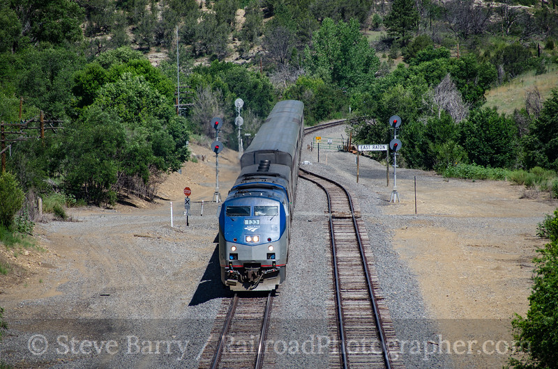 Photo 3892<br /> Amtrak; Raton, New Mexico<br /> July 17, 2016