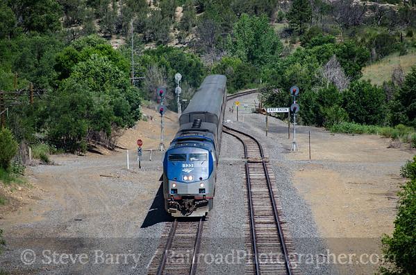 Photo 3892 Amtrak; Raton, New Mexico July 17, 2016
