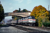 Photo 5396<br /> Amtrak<br /> Port Royal, Pennsylvania<br /> October 1991