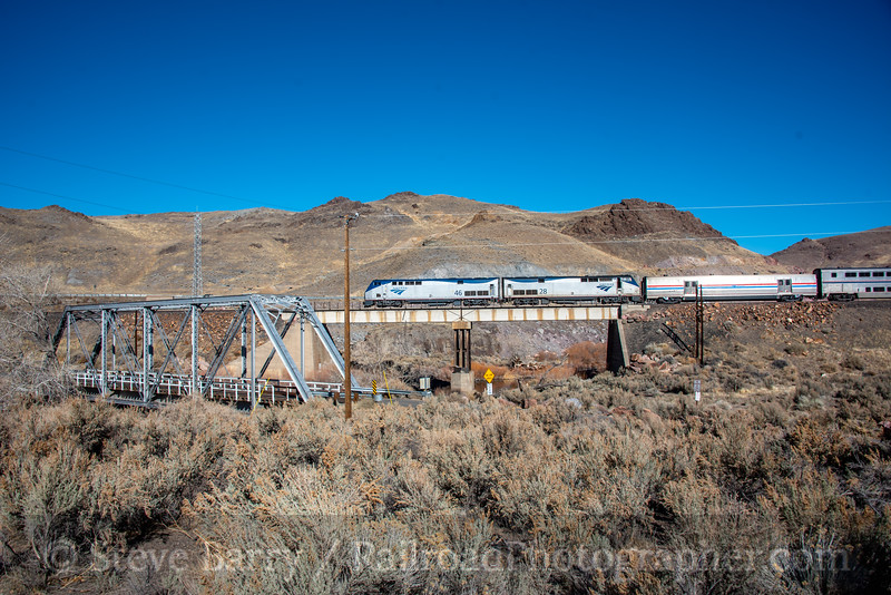 Amtrak; Painted Rock NV; 2/13/20