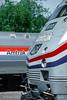 Photo 4593<br /> Amtrak<br /> Lorton, Virginia<br /> April 1994