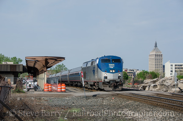 Photo 3402 Amtrak; Rochester, New York May 10, 2015