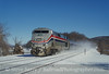 Photo 5080<br /> Amtrak<br /> Manitou, New York<br /> December 2000
