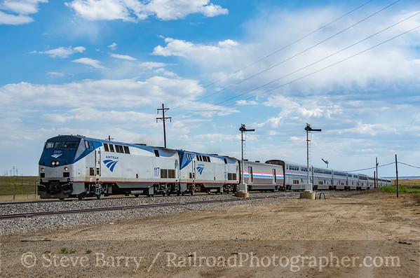 Photo 3887 Amtrak; Colmor, New Mexico July 17, 2016