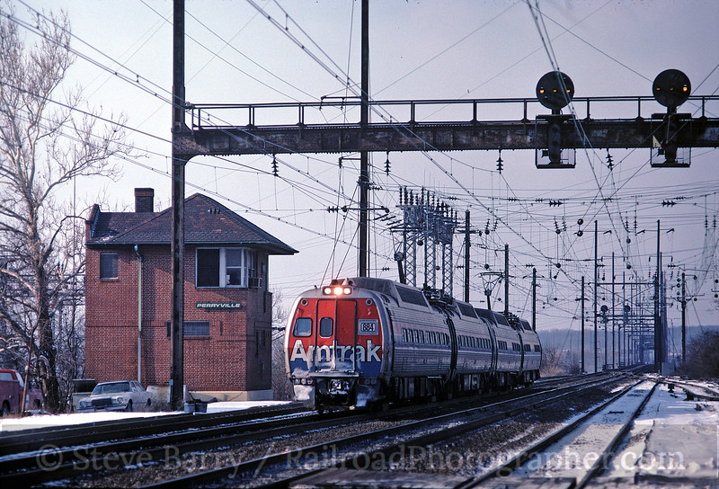 Photo 0027<br /> Amtrak; Perryville, Maryland<br /> January 1981