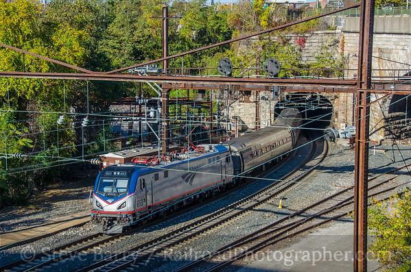 Photo 3989 Amtrak; Baltimore, Maryland November 5, 2016