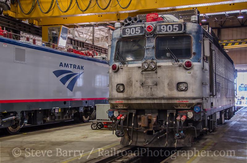 Photo 3813<br /> Amtrak; Wilmington Shop, Wilmington, Delaware<br /> June 18, 2016