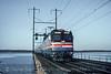 Photo 5085<br /> Amtrak<br /> Gunpowder River, Chase, Maryland<br /> February 1993