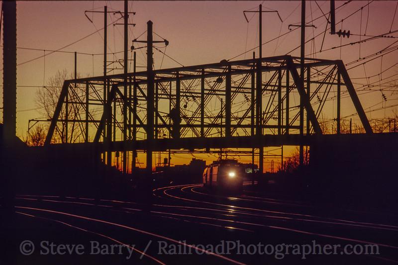 Photo 1427<br /> Amtrak; Bayview Yard, Baltimore, Maryland<br /> May 1990