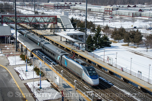 Photo 3318 Amtrak; Hamilton, New Jersey March 8, 2015