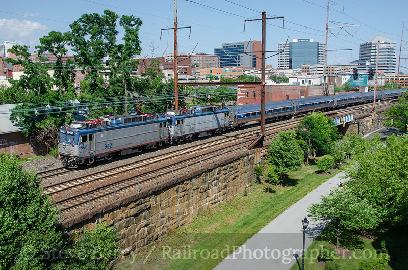 Photo 3814<br /> Amtrak; Wilmington, Delaware<br /> June 18, 2016