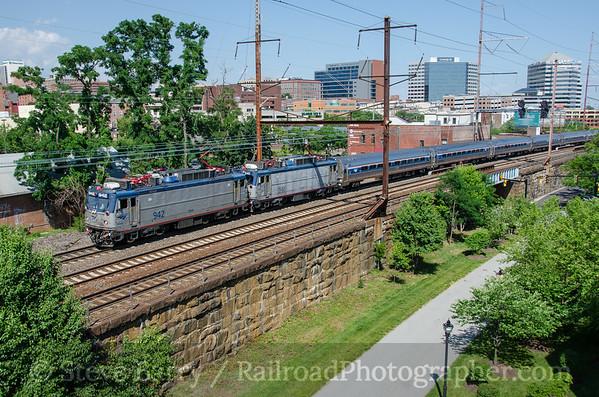 Photo 3814 Amtrak; Wilmington, Delaware June 18, 2016