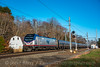 Photo 5363<br /> Amtrak<br /> Old Saybrook, Connecticut<br /> November 11, 2018