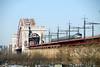 Photo 1470<br /> Amtrak; Hell Gate Bridge, Astoria, New York<br /> February 1, 2009
