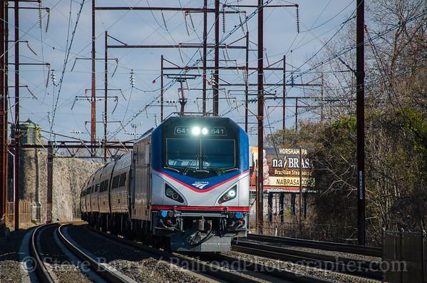 Photo 4006 Amtrak; Holmesburg Junction, Pennsylvania November 27, 2016