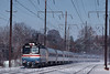 Photo 1197<br /> Amtrak; Crum Lynne, Pennsylvania<br /> January 13, 1996
