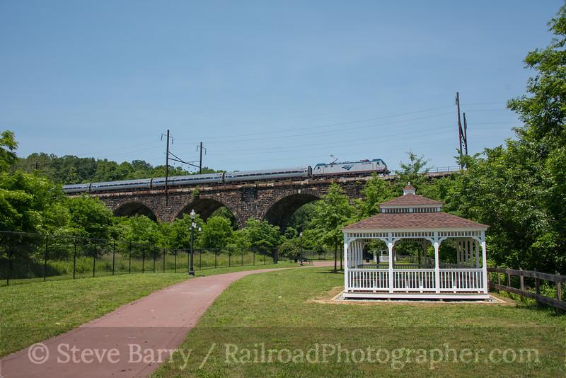 Photo 4227<br /> Amtrak; Coatesville, Pennsylvania<br /> June 10, 2017