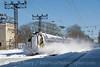 Photo 1798<br /> Amtrak; Bryn Mawr, Pennsylvania<br /> February 12, 2010